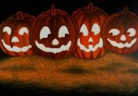 "Pumpkins (20""x30"")"